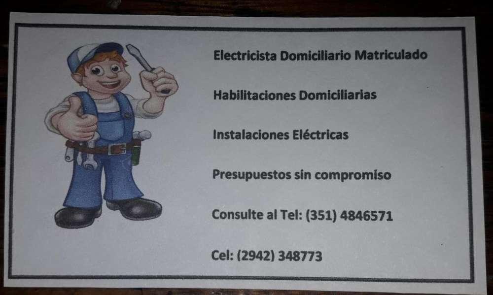 Electricista Matriculado por ERSEP