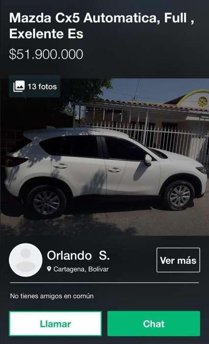 Mazda CX5 2014 - 87500 km