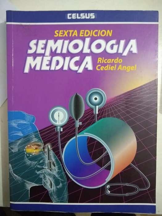 Semiología (Cediel 6 ta edición). Original. Cero rayones.