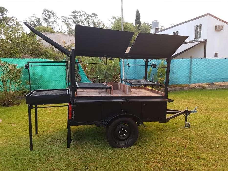 Carro Gastronómico, Food Truck, Parrilla