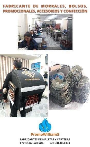 Costurero ribeteadora de morrales, maquina plana, bolsos y billeteras