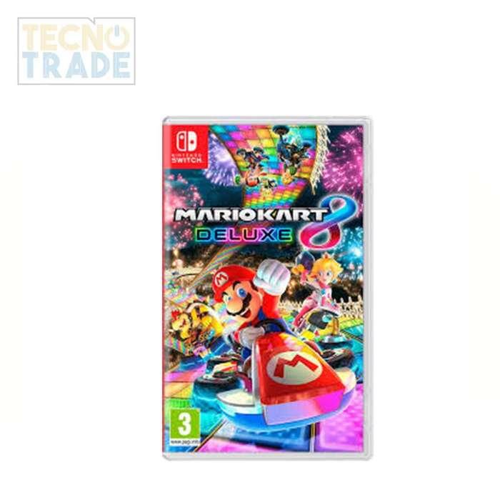 Juego Mario Kart Deluxe 8 NINTENDO Switch, incluye IVA