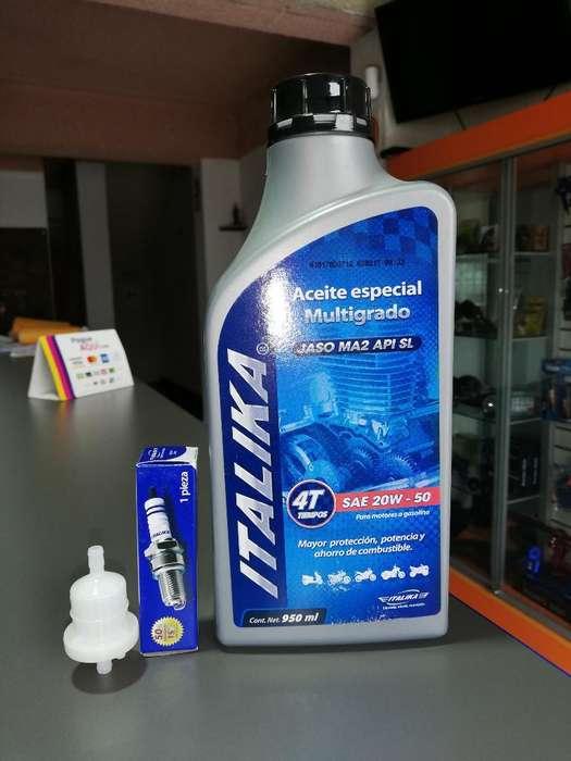 Manten, Aceite,filtro Gasolina