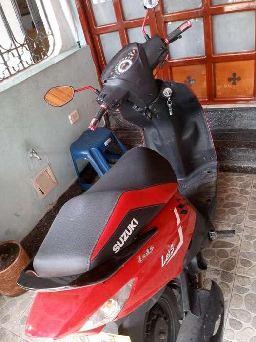 Vendo Moto Suzuki Lets