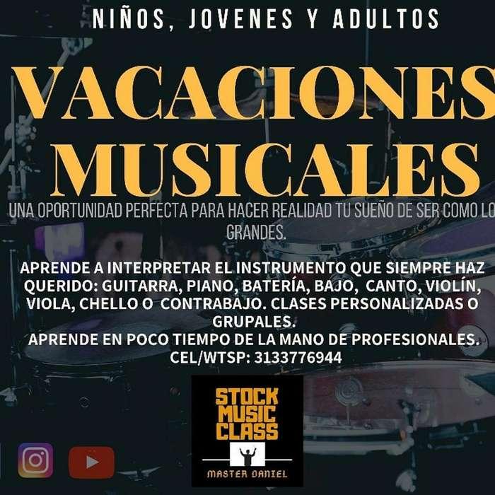 Stock Music Class (clases a Domicilio)