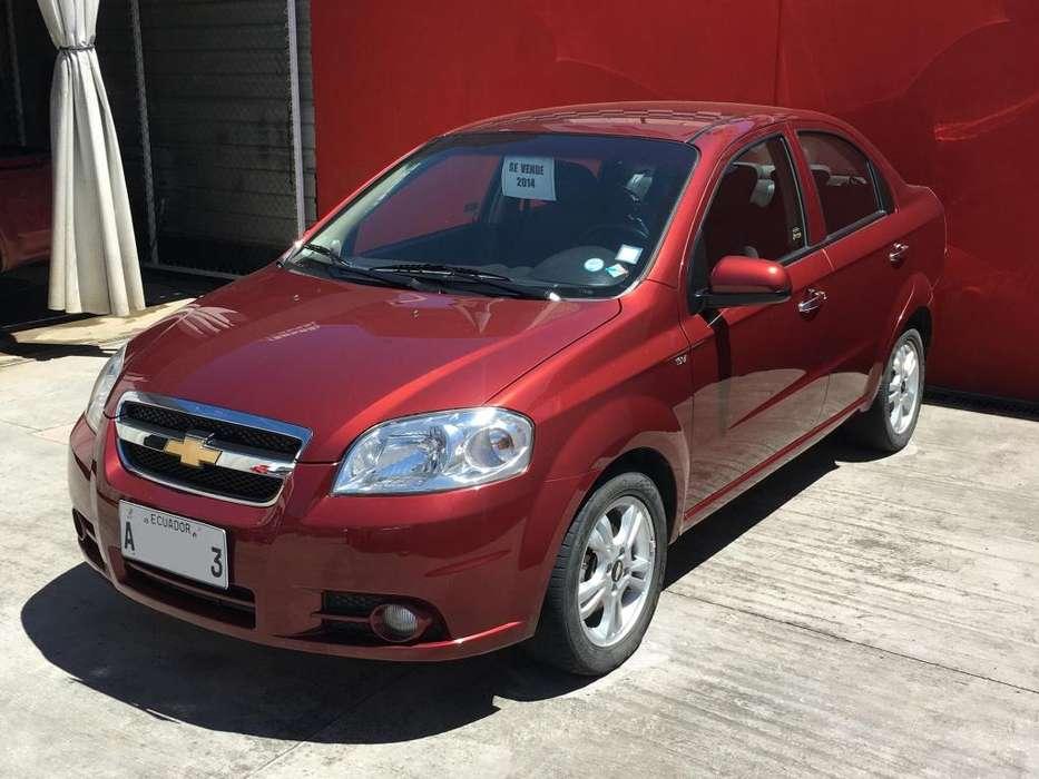 Chevrolet Aveo 2016 - 69000 km