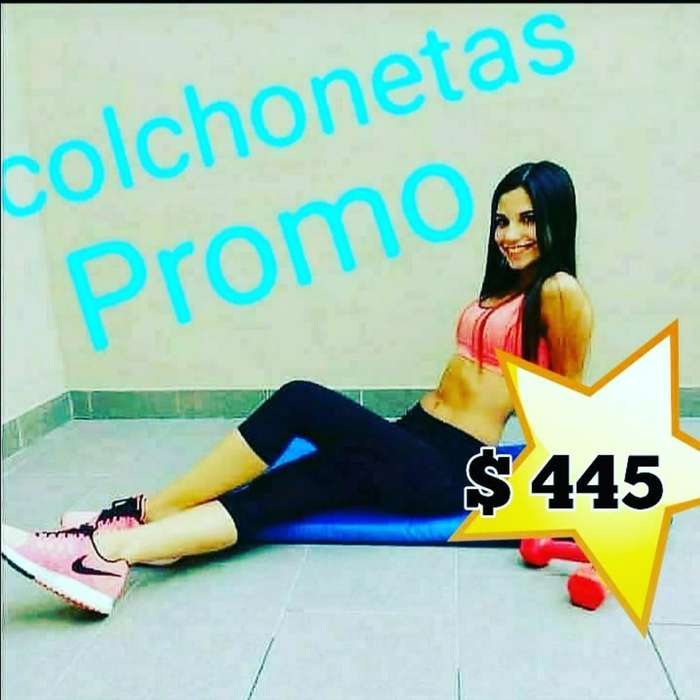 Colchonetas Nuevas Gym Llevate La Tuya