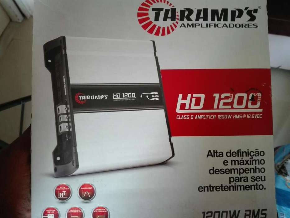 Vendo Amplificador Taramps