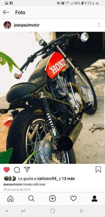 Honda 125cc Cafe Racer