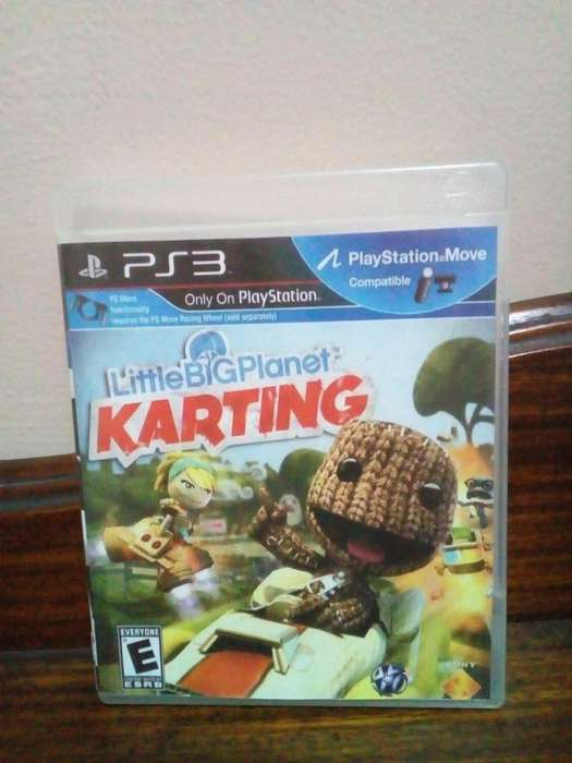 Little Big Planet Karting Juego PS3 Play Station 3