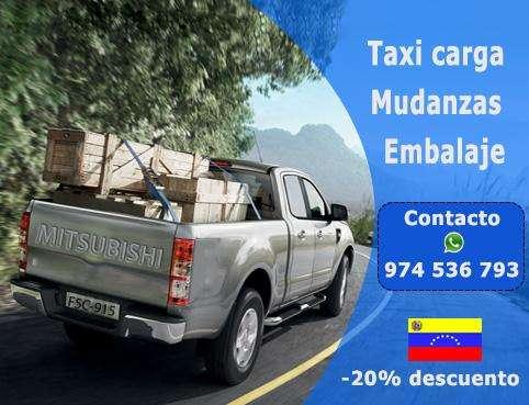 Mudanzas desde S/ 30.00 (974 536 793) Taxi Carga