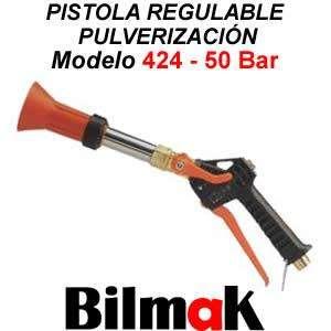 Pistola Regulable Pulverizacion Modelo 424 50 Bar