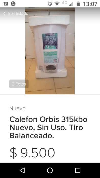 Calefon Nuevo
