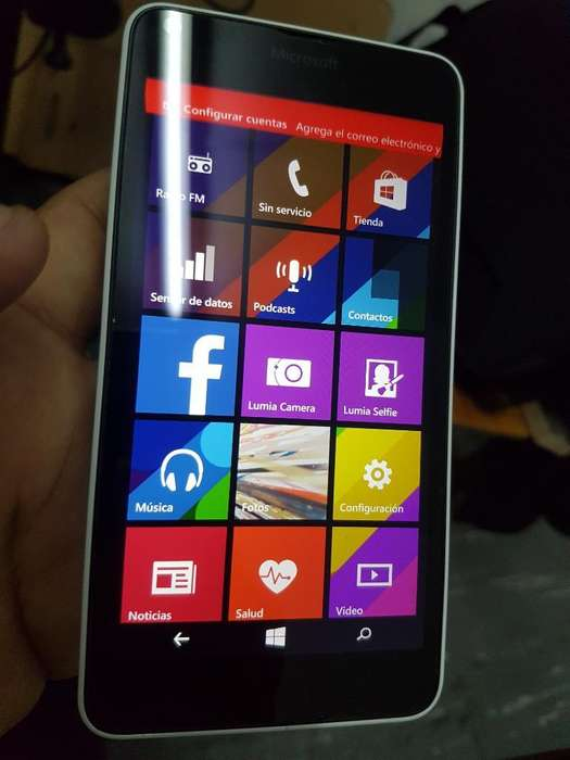 Microsof Lumia 640 Lte Solo Wifi Y Datos