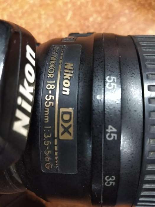 Vendo Camara Nikon Como Nueva