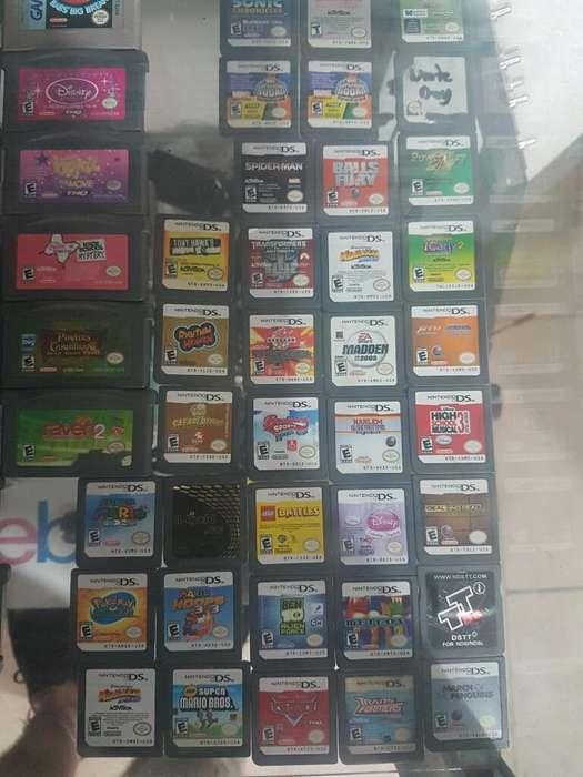 Juegos Nintendo Ds Y Memorias Play2