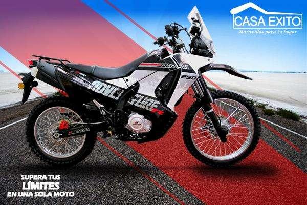 Moto Daytona DY250 Adventure 250cc Año 2019 Color Blanco / Rojo Casa Éxito