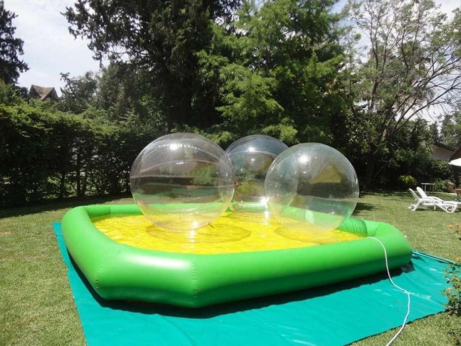 Pileta Inflable 3 Water Balls