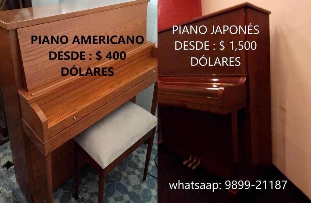 BAJAMOS EL PRECIO EN PIANOS ESTE MES! NUEVA LLEGADA DE PIANOS CIA. ORÉ PIANOS - TIENDA DE PIANOS