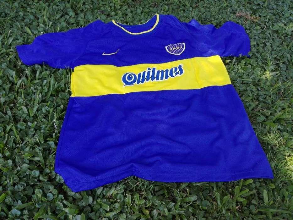 Camiseta Boca Retro Titular 2000