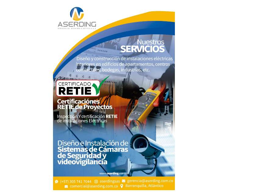 Certificación Retie - Instalaciones electricas