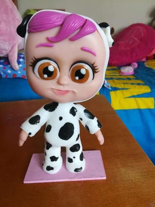 Muñeca de Porcelana Dotty Bebe Llorones