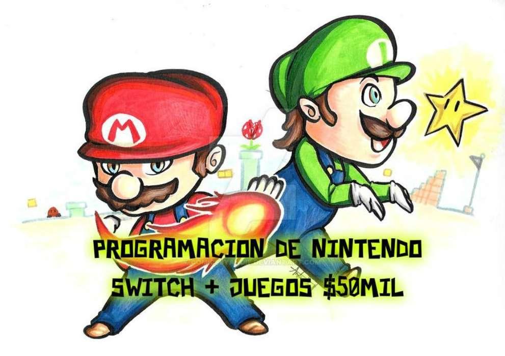 Nintendo Switch Programación