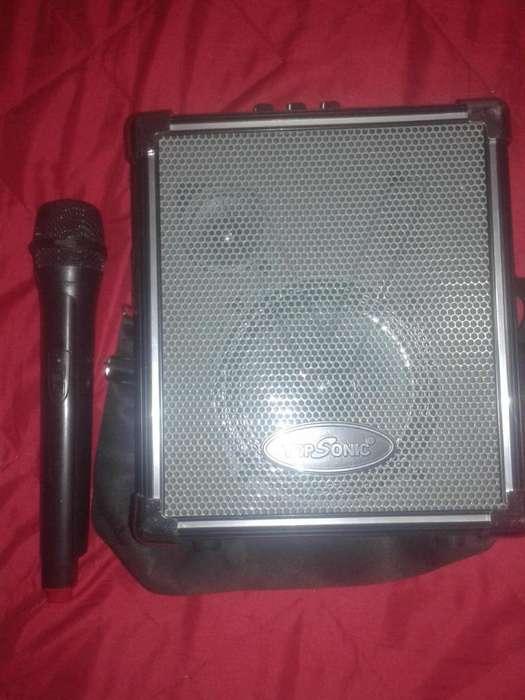 Parlante Amplificador Bluetooth Top Sonic Ts-pf70bt