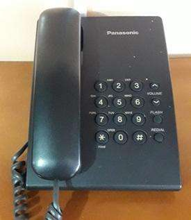 TELÉFONO <strong>panasonic</strong> PARA CABINAS U OFICINA EN PERFECTO ESTADO