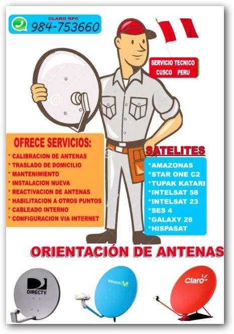 INSTALACIÓN DE ANTENAS PARABOLICAS
