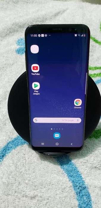 Galaxy S8 con Cargador Inalambrico