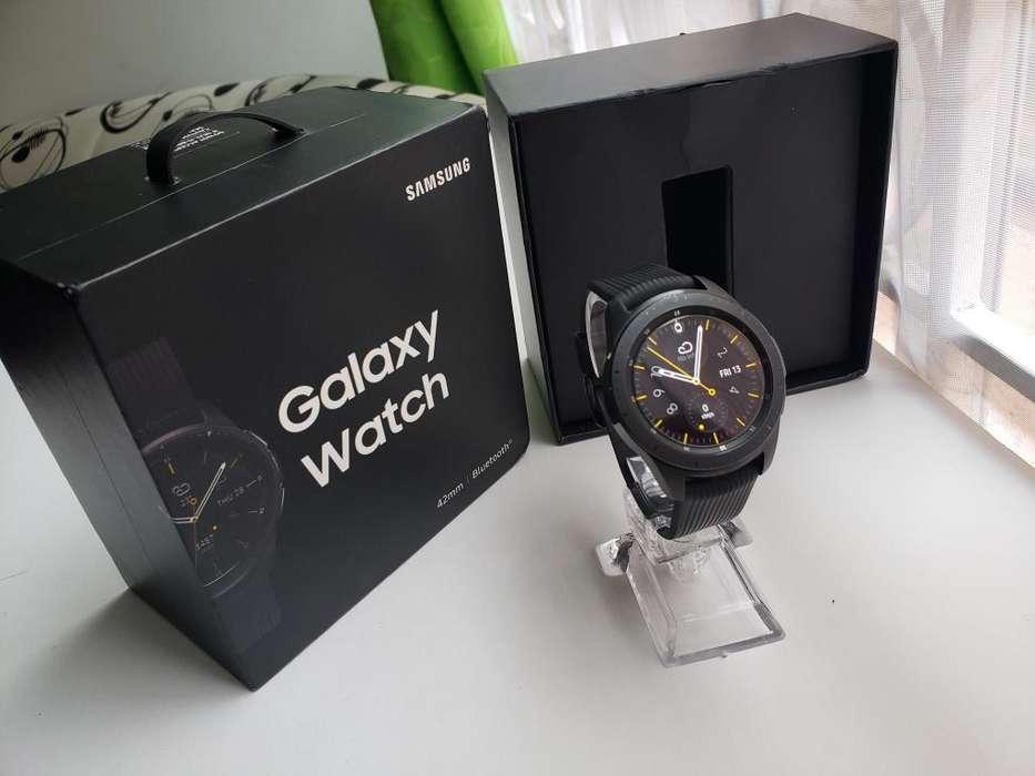 Smartwatch Samsung Galaxy Watch 42mm, caja y accesorios, perfecto!!