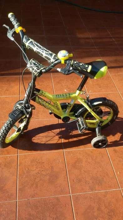 Bicicleta Aurorita Spider. rodado 12