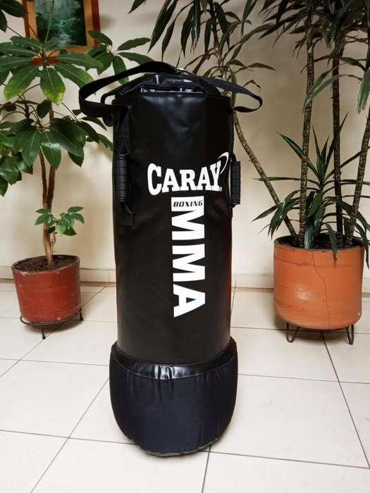 Saco de Boxeo Profesional y Guantes MMA