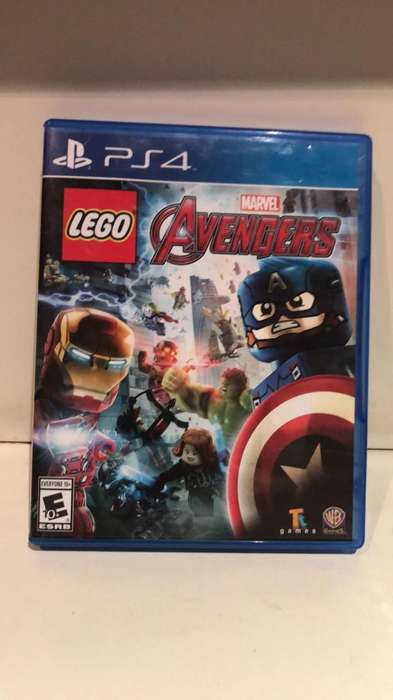 Ps4 Juego Lego Avengers