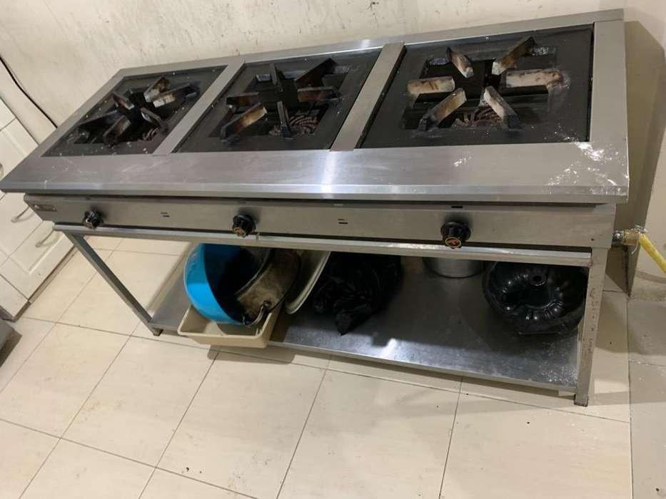 Cocina Industrial Fretega 0981079754