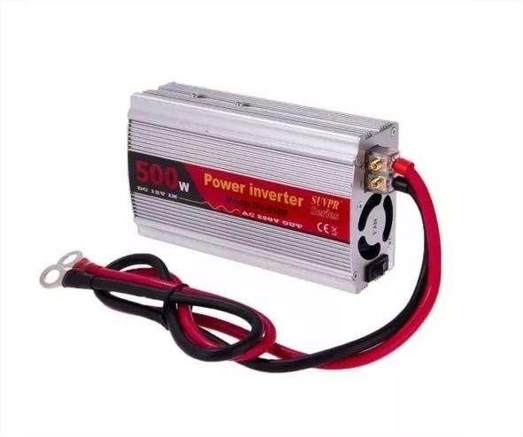 Inversor Corriente 500w De 12v A 220v Bateria Y Usb