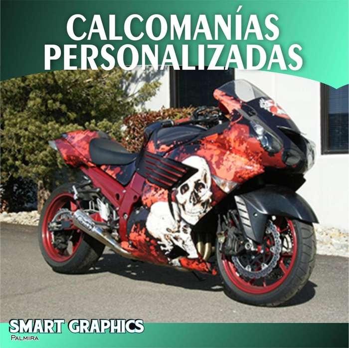 CALCOMANIAS PERSONALIZADAS MOTO CARROS VEHICULOS PERSONALIZACION CUSTOM STICKERS DISEÑO ADHESIVOS PUBLICIDAD PALMIRA