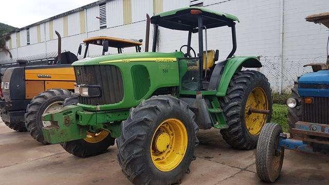 Tractor John Deere 7515 140 hp año 2006