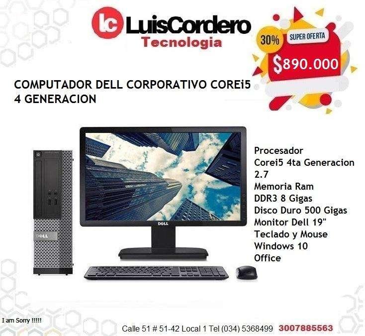 Computador DELL corporativo