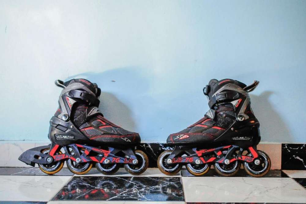 Rollers Dos In Line Talle 38,39