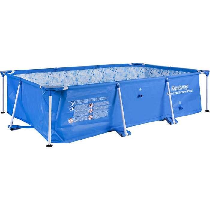 piscina 2.59 x 1.70 x 0.61 capacidad 2300 l , para 4 hasta 5 personasnuevo