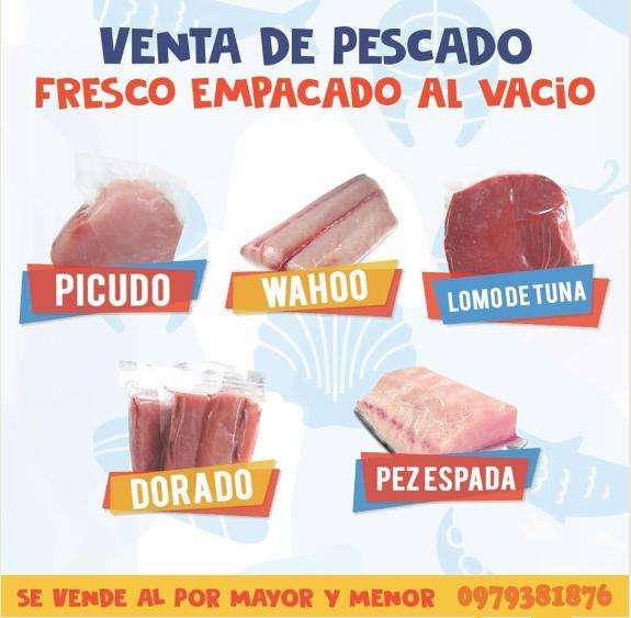 PESCADO Y MARISCO ALBACORA, PICUDO, WAHOO, CAMARÓN.... PRODUCTOS DEL MAR.