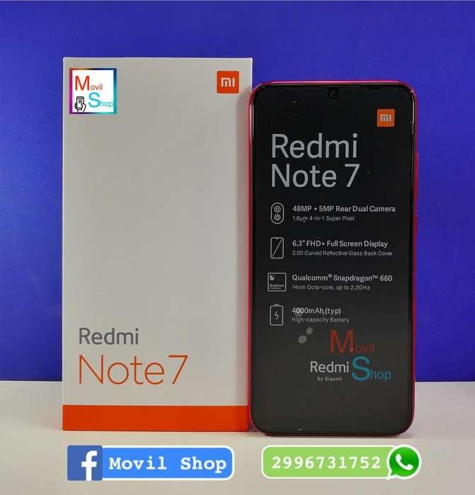 Xiaomi Redmi Note 7 64GB EDICION ESPECIAL!!!! solo efectivo