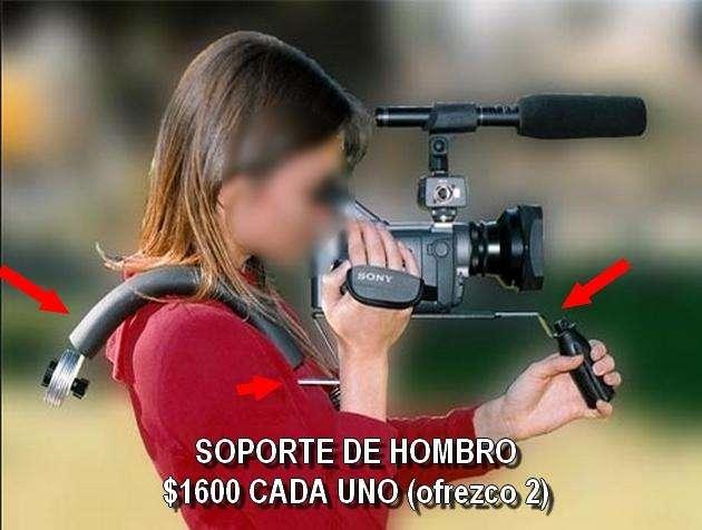 VENDO SOPORTE DE HOMBRO PROFESIONAL SE VAN 2 UNIDADES IDENTICAS PARA CAMARAS REFLEX Y VIDEOCAMARAS CHICAS 1151502656