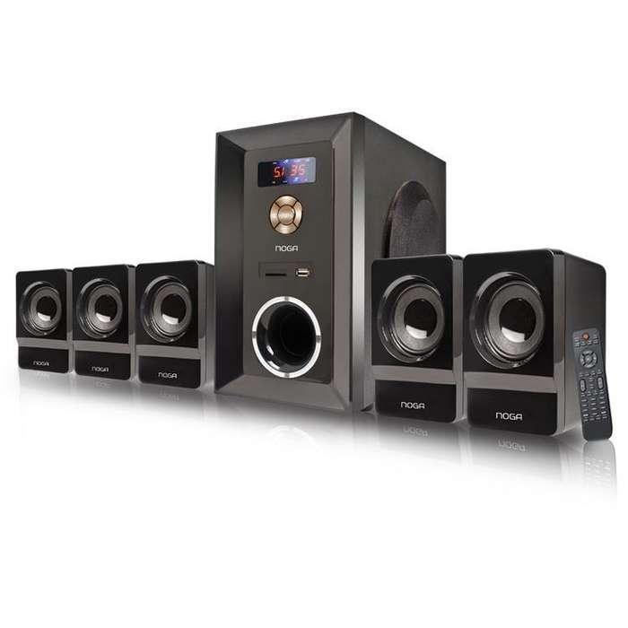 Home Theater 5.1 Bluetooth 95W FM/SD/BT/MMC/USB