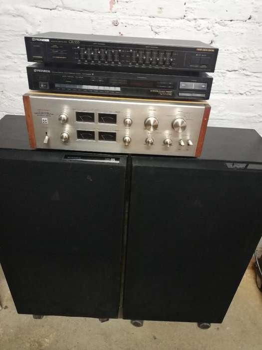Equipo Vintage Pioneer