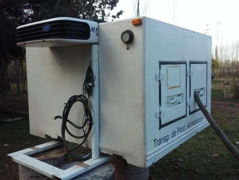 Equipo de frio carrier supercongelados caja termica