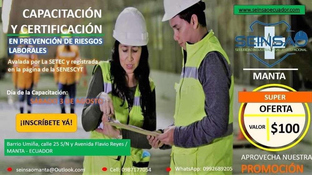 Certificación en Prevención de Riesgos L