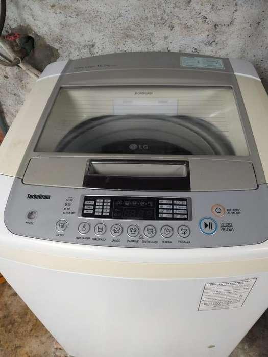 Vendo <strong>lavadora</strong> Lg Turbo Drum